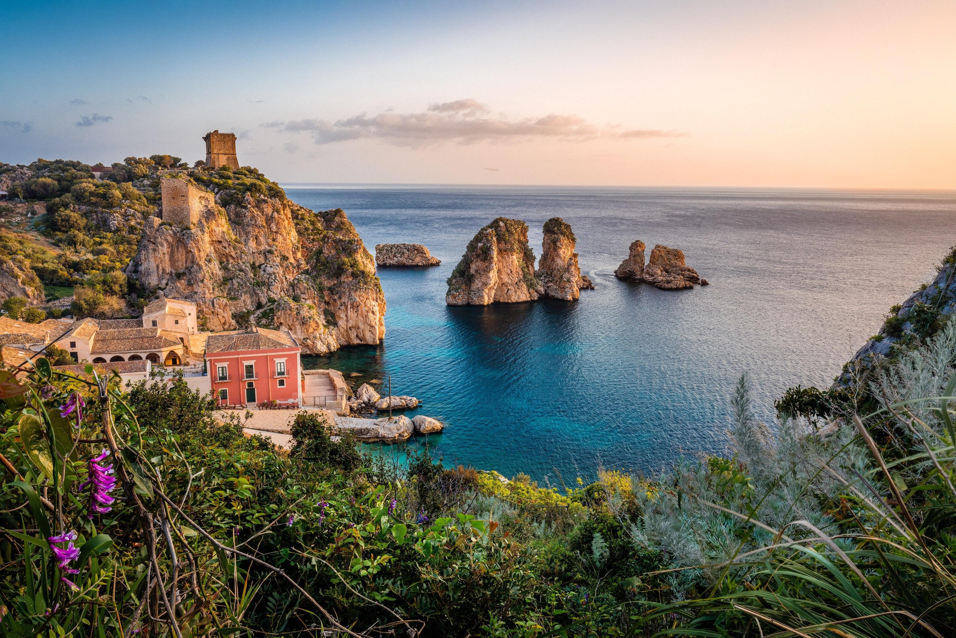 Ferienwohnung Wohnung mit 3 Schlafzimmern in Alcamo mit herrlichem Meerblick, eingezäuntem Garten und W- (2623785), Alcamo, Trapani, Sizilien, Italien, Bild 16