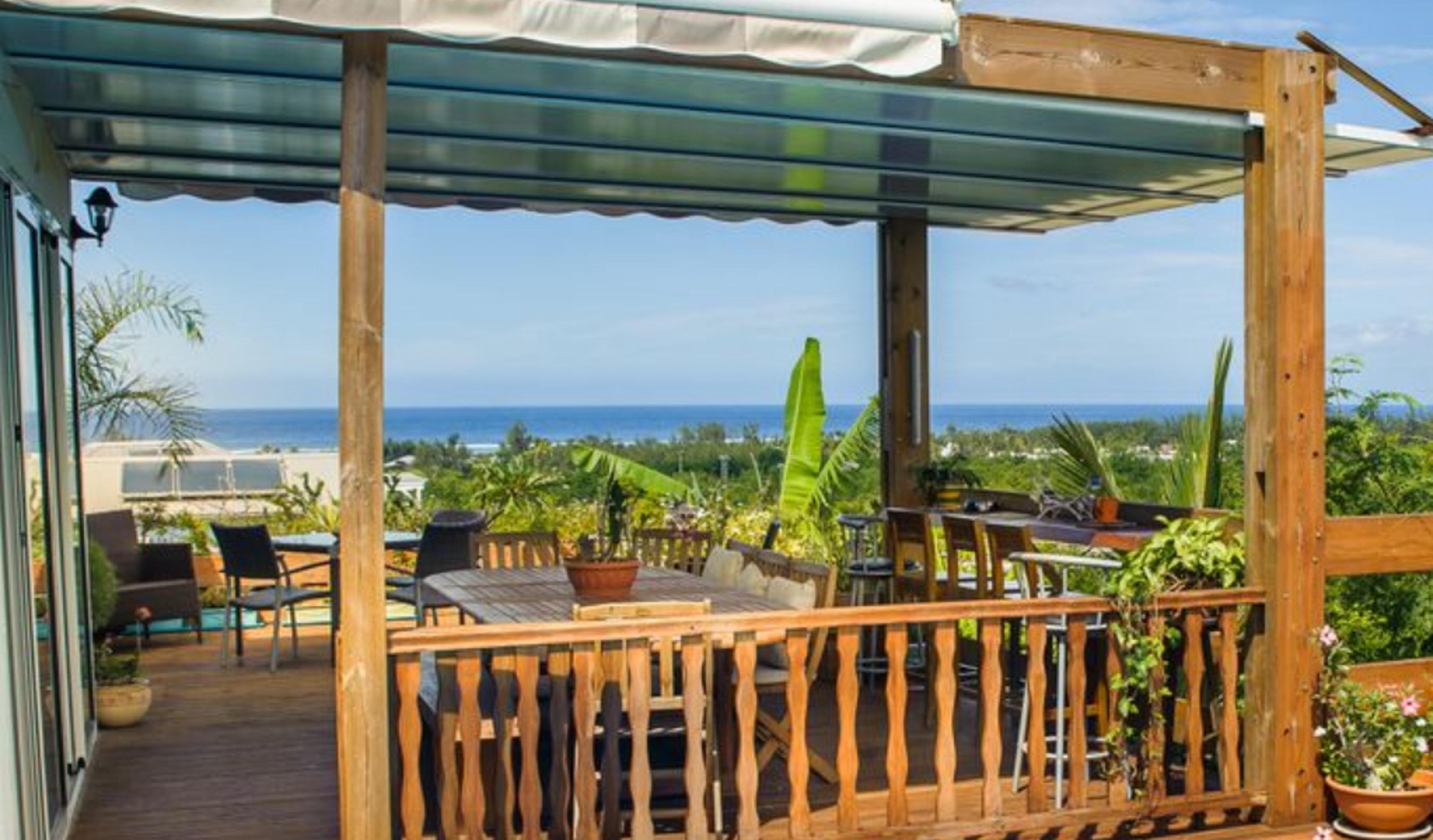 Villa mit 4 Schlafzimmern in La Saline-Les-Bains m Villa in Afrika