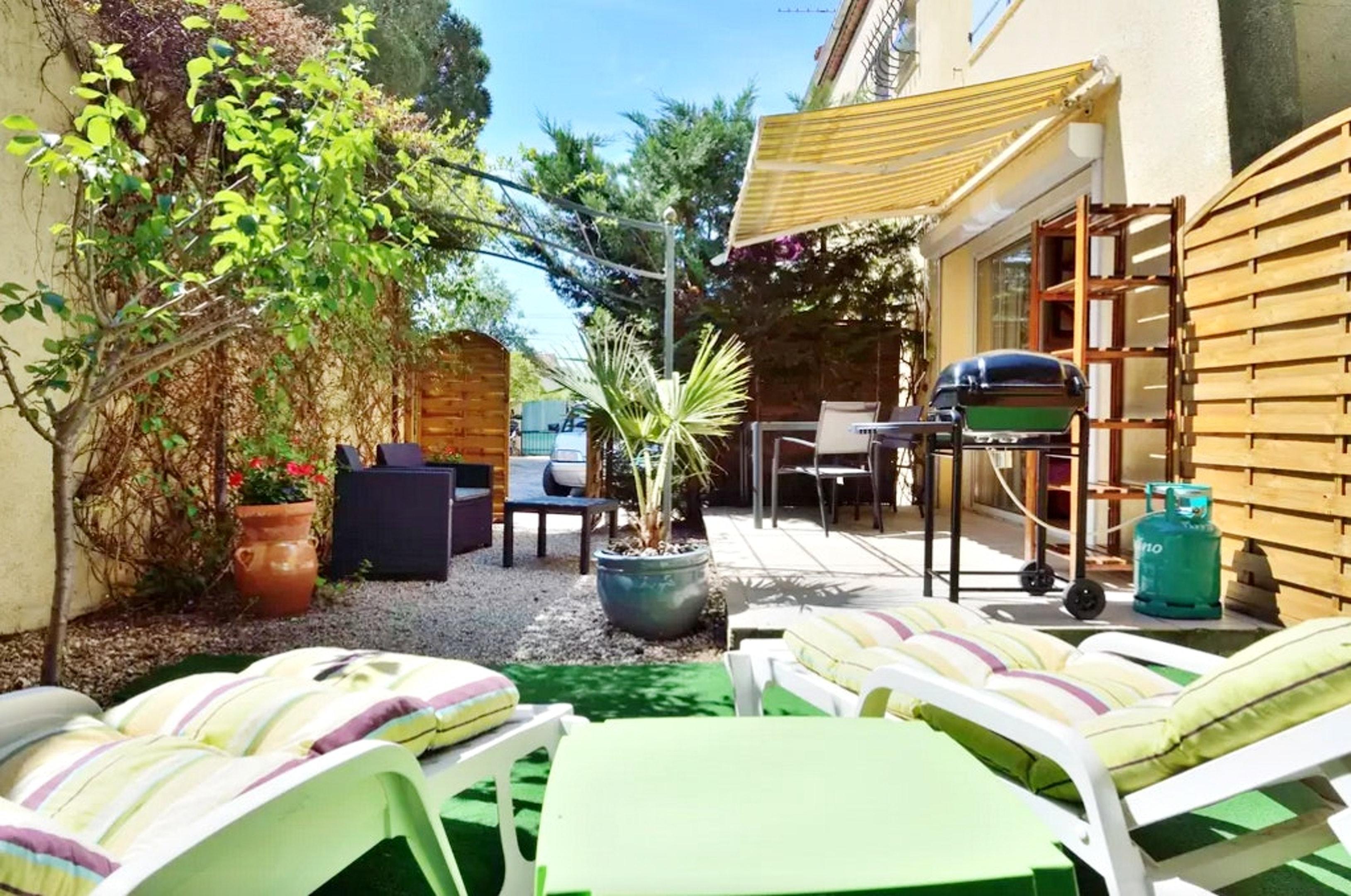 Holiday apartment Wohnung mit einem Schlafzimmer in Fréjus mit eingezäuntem Garten und W-LAN (2202409), Fréjus, Côte d'Azur, Provence - Alps - Côte d'Azur, France, picture 4