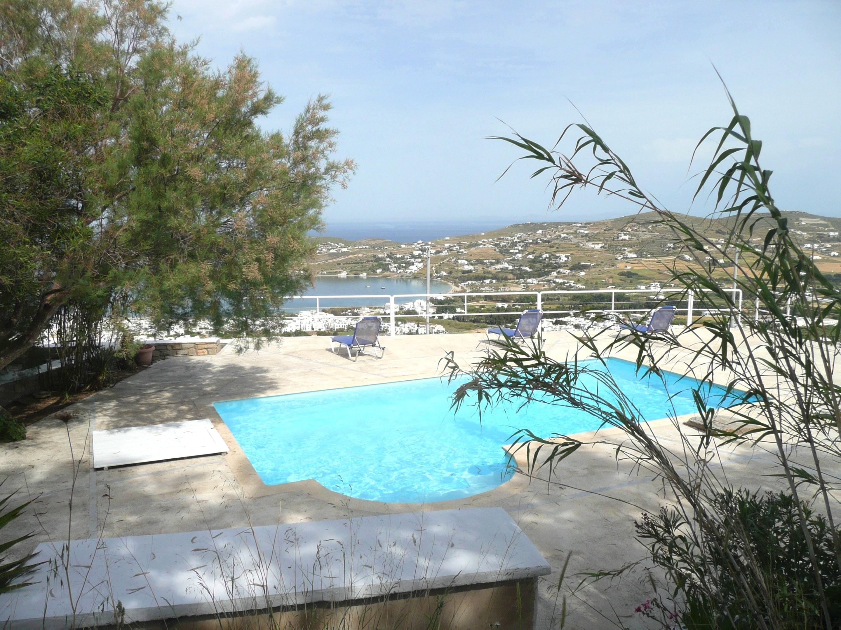 Holiday house Villa mit 2 Schlafzimmern in Paros mit herrlichem Meerblick, Pool, Terrasse (2201782), Paros, Paros, Cyclades, Greece, picture 4