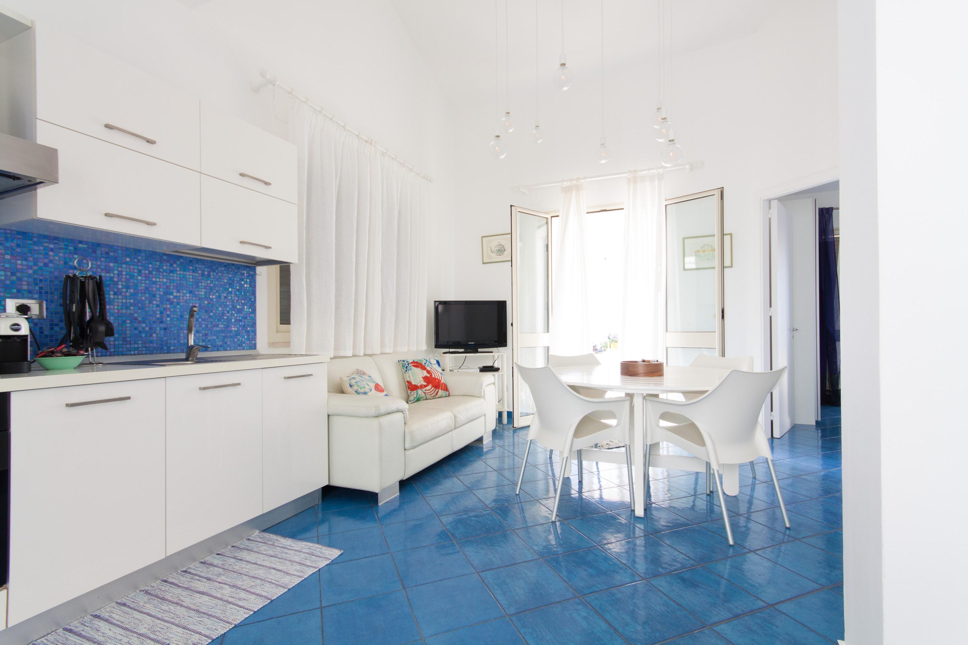Holiday apartment Wohnung mit 3 Schlafzimmern in Piano di Trappeto mit herrlichem Meerblick, möblierter Terr (2271436), Balestrate, Palermo, Sicily, Italy, picture 9
