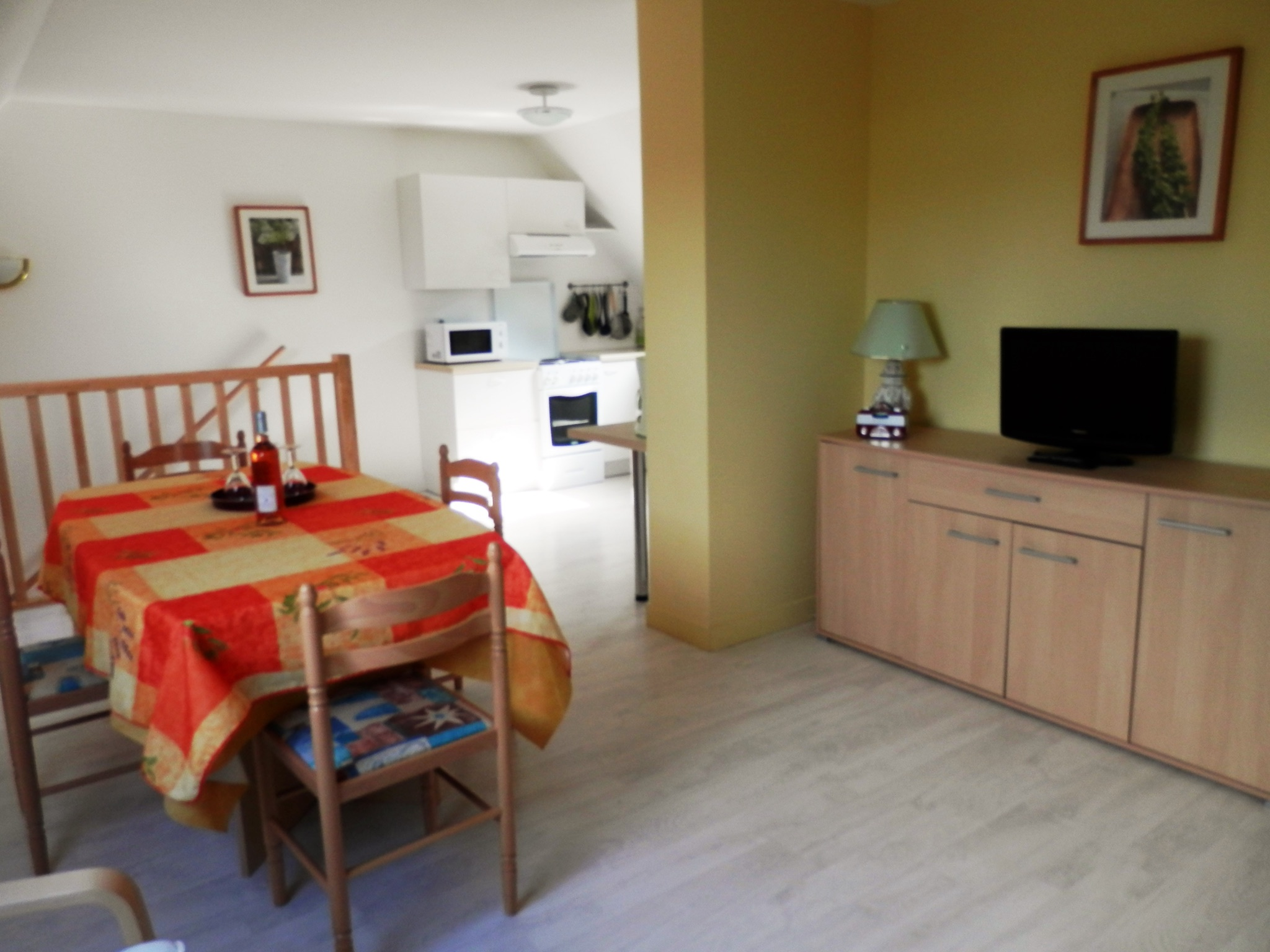 Holiday apartment Modernes wohnung in Arzon mit zwei Schlafzimmern, Terrasse und Blick auf die Stadt - für v (2201249), Arzon, Atlantic coast Morbihan, Brittany, France, picture 6