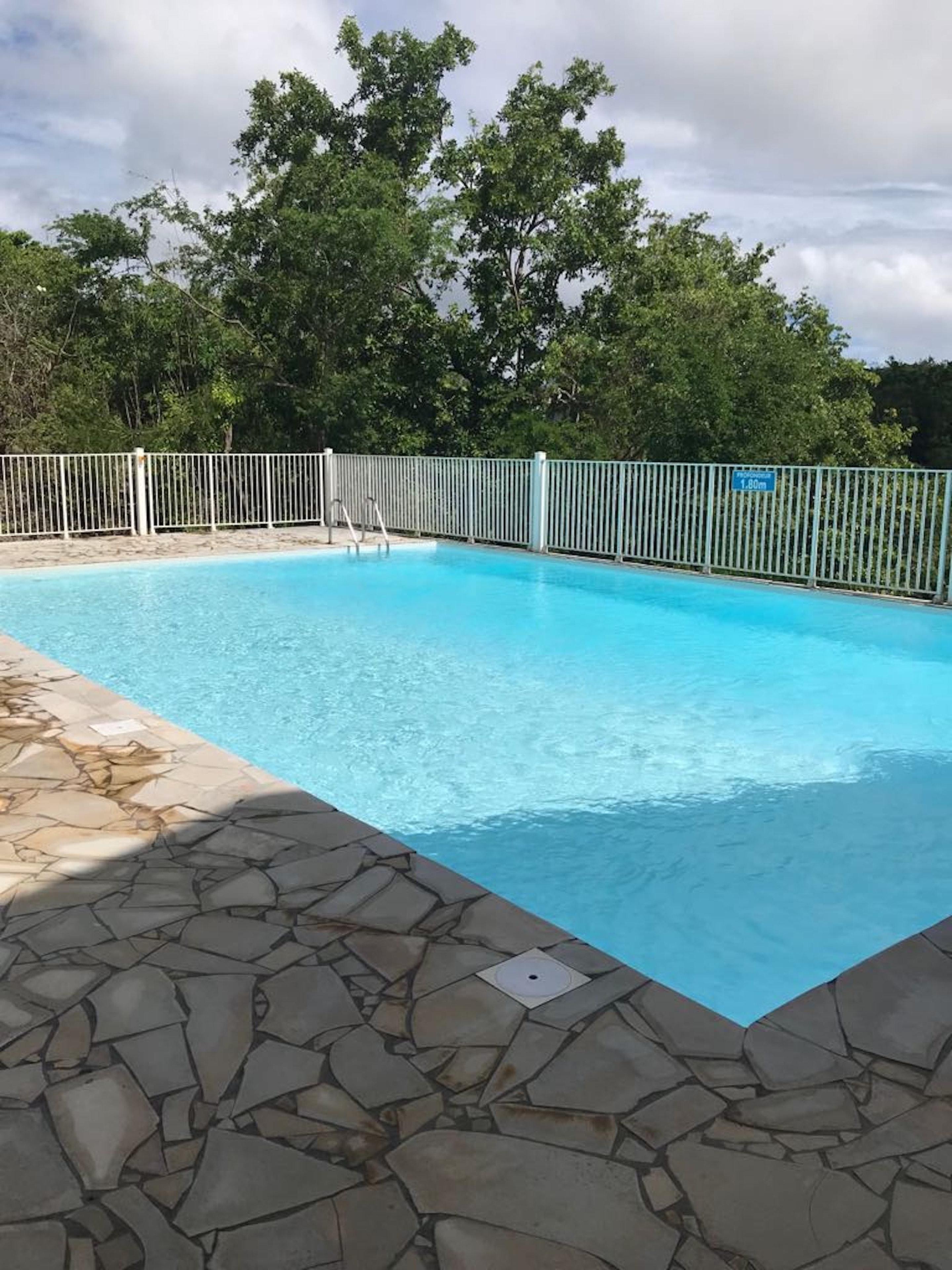Wohnung mit 2 Schlafzimmern in Le Gosier mit herrl Ferienwohnung in Guadeloupe