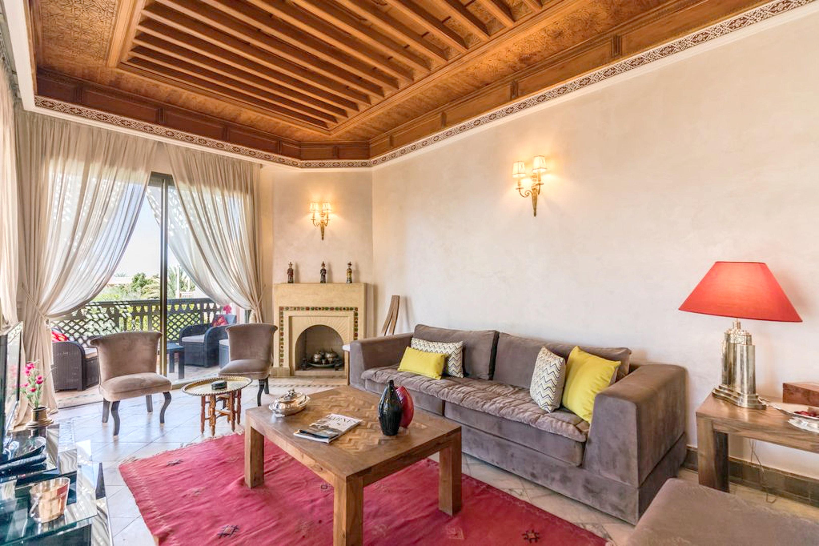 Haus mit 3 Schlafzimmern in Marrakech, Annakhil mi Ferienhaus in Marokko