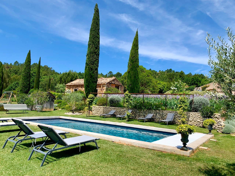 Holiday house Haus mit 2 Schlafzimmern in Roussillon mit Pool, eingezäuntem Garten und W-LAN (2818064), Roussillon, Vaucluse, Provence - Alps - Côte d'Azur, France, picture 22