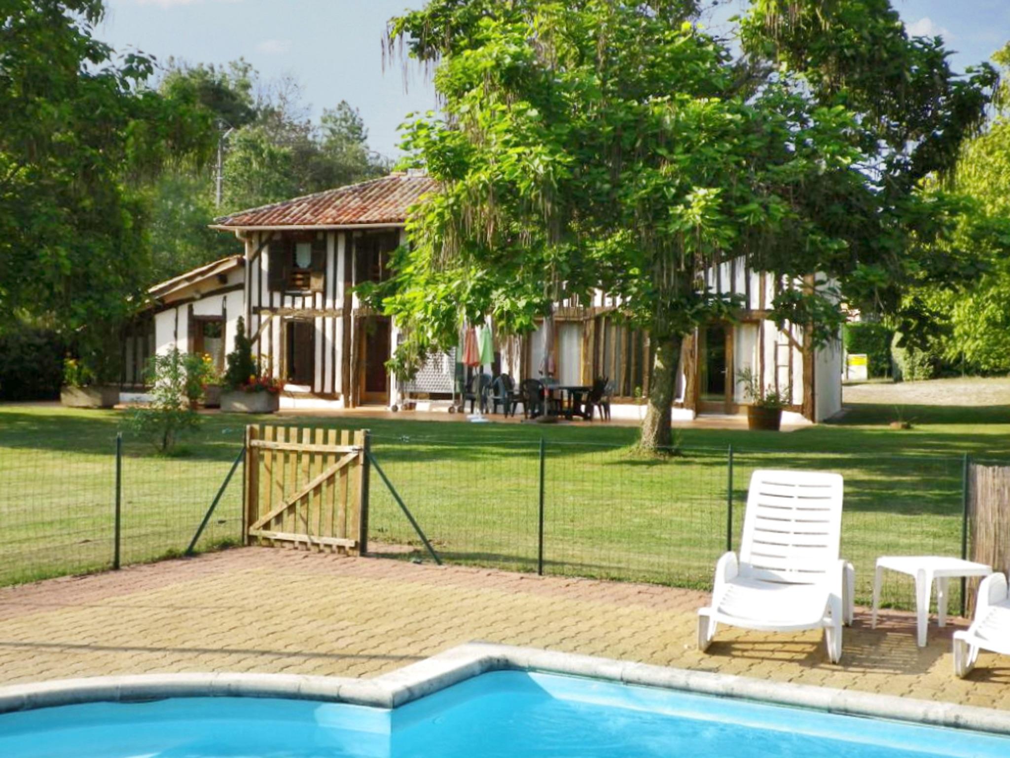 Ferienhaus Villa mit 4 Zimmern in Trensacq mit privatem Pool und möbliertem Garten - 45 km vom Strand (2202366), Trensacq, Landes, Aquitanien, Frankreich, Bild 1