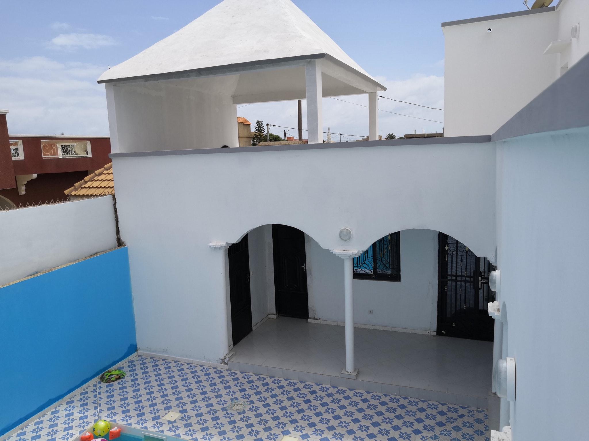 Villa mit 3 Schlafzimmern in Ngaparou mit schö Villa in Afrika