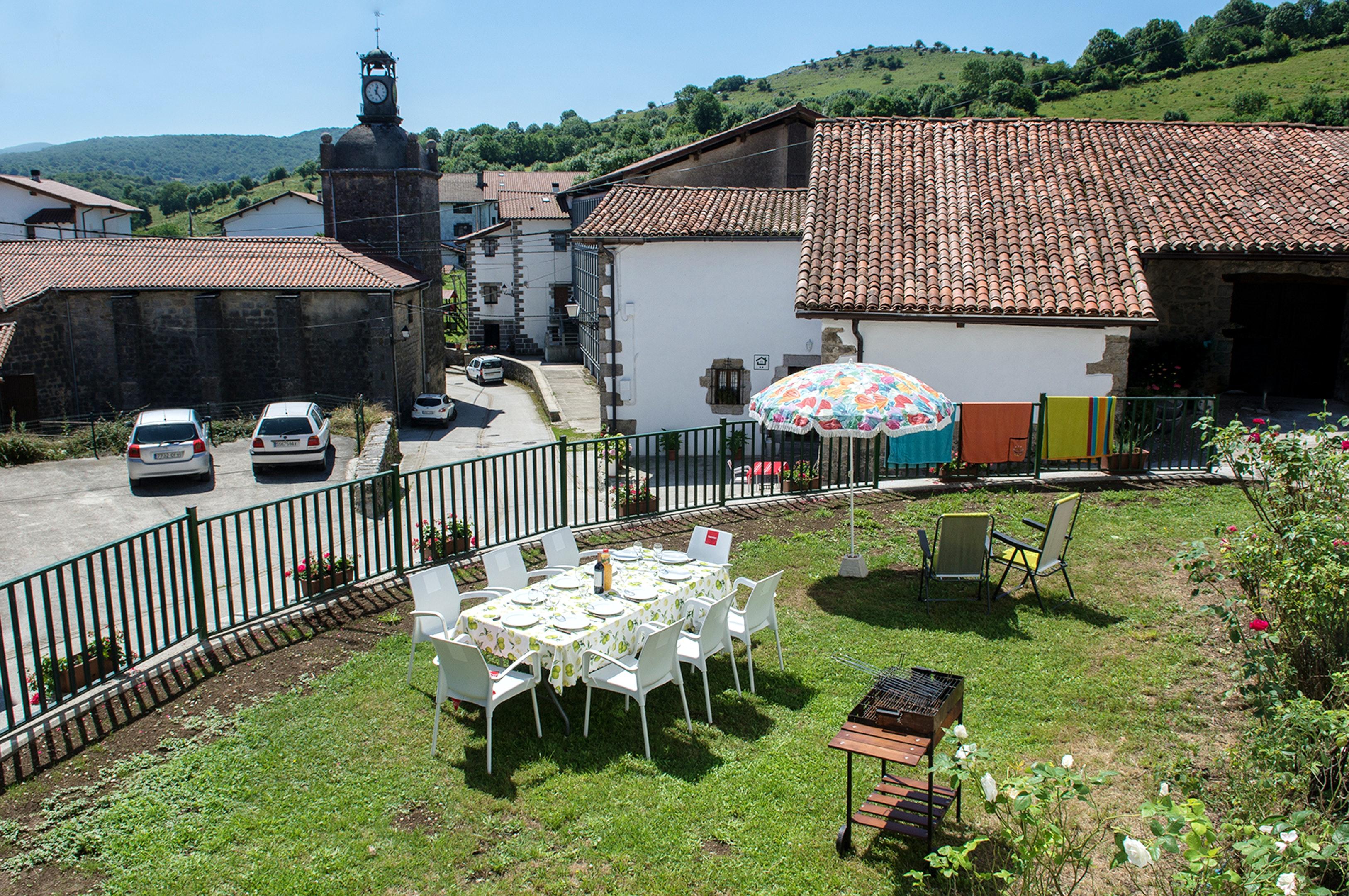 Ferienhaus Haus mit 5 Schlafzimmern in Baráibar mit toller Aussicht auf die Berge, möbliertem Garten  (2541138), Baraibar, , Navarra, Spanien, Bild 24