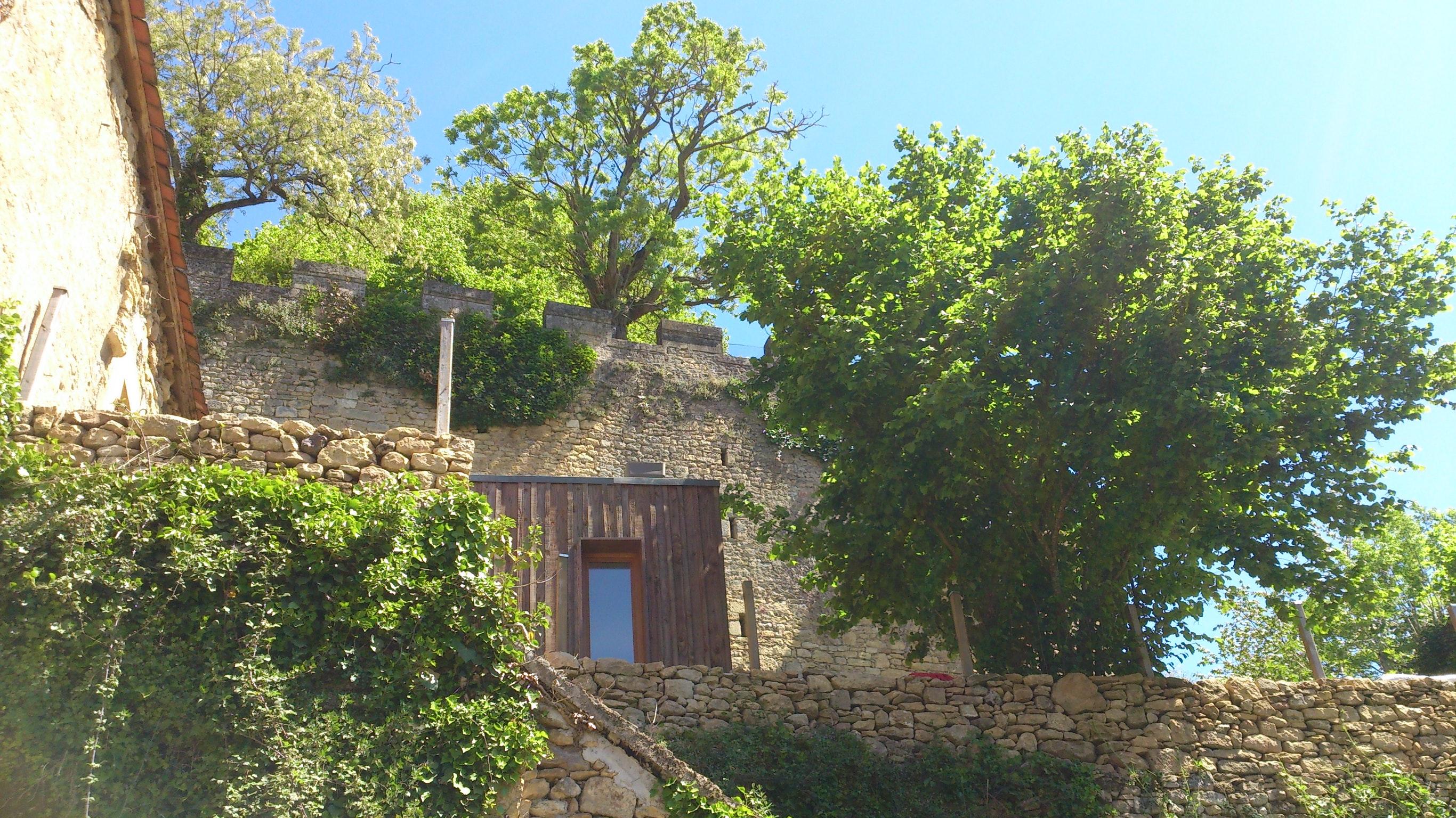 Maison traditionnelle de 2 chambres à Limeuil, avec terrasse ...