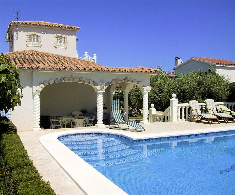 Ferienhaus Villa mit 3 Schlafzimmern in Ampolla mit herrlichem Meerblick, privatem Pool, möbliertem G (2201037), L'Ampolla, Costa Dorada, Katalonien, Spanien, Bild 1