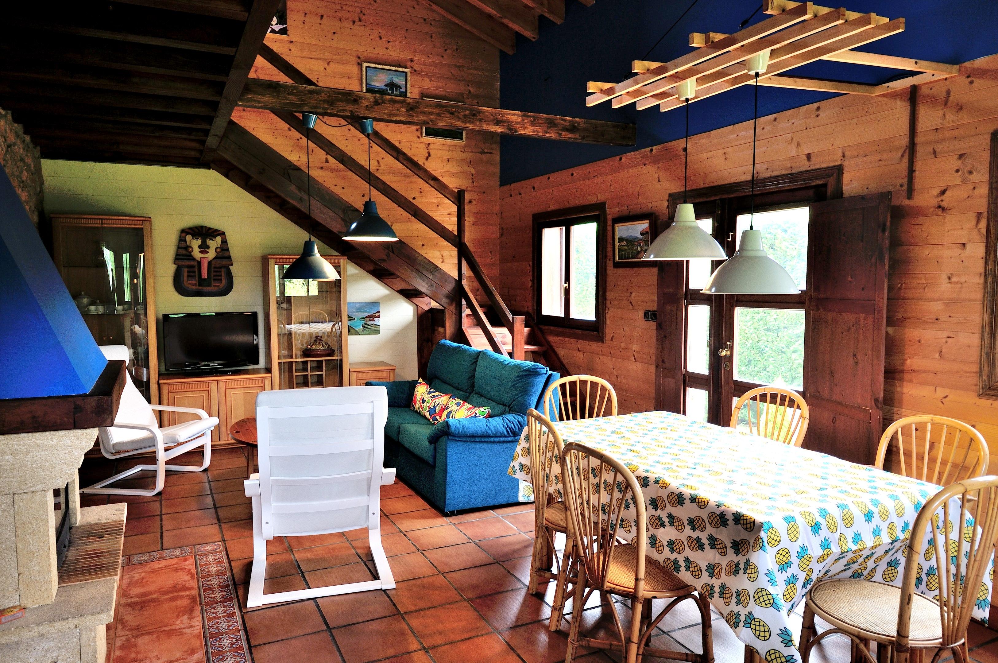Ferienhaus Haus mit 3 Schlafzimmern in Albuerne mit eingezäuntem Garten - 6 km vom Strand entfernt (2208400), Albuerne, Costa Verde (ES), Asturien, Spanien, Bild 14