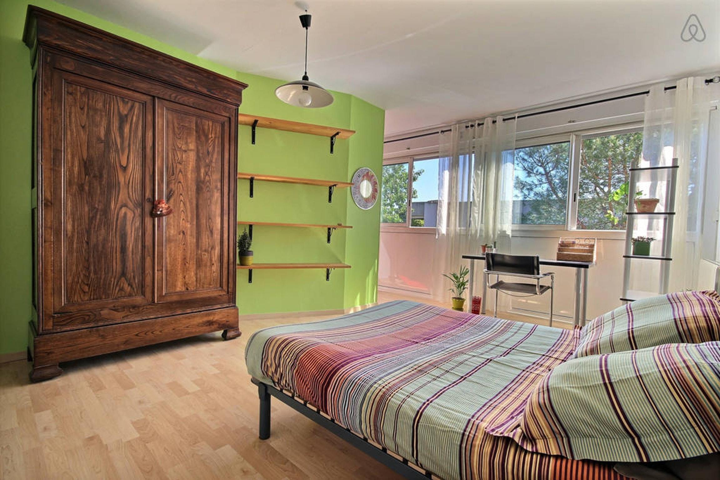 Ferienwohnung Wohnung mit 2 Zimmern in Montpellier mit möblierter Terrasse und W-LAN - 15 km vom Strand  (2351209), Montpellier, Mittelmeerküste Hérault, Languedoc-Roussillon, Frankreich, Bild 8