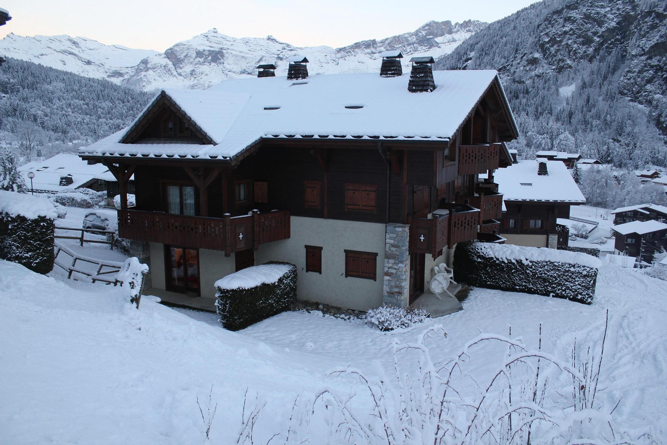 Ferienwohnung Wohnung mit einem Schlafzimmer in Les Houches mit toller Aussicht auf die Berge, Pool und  (2591443), Les Houches, Hochsavoyen, Rhône-Alpen, Frankreich, Bild 10