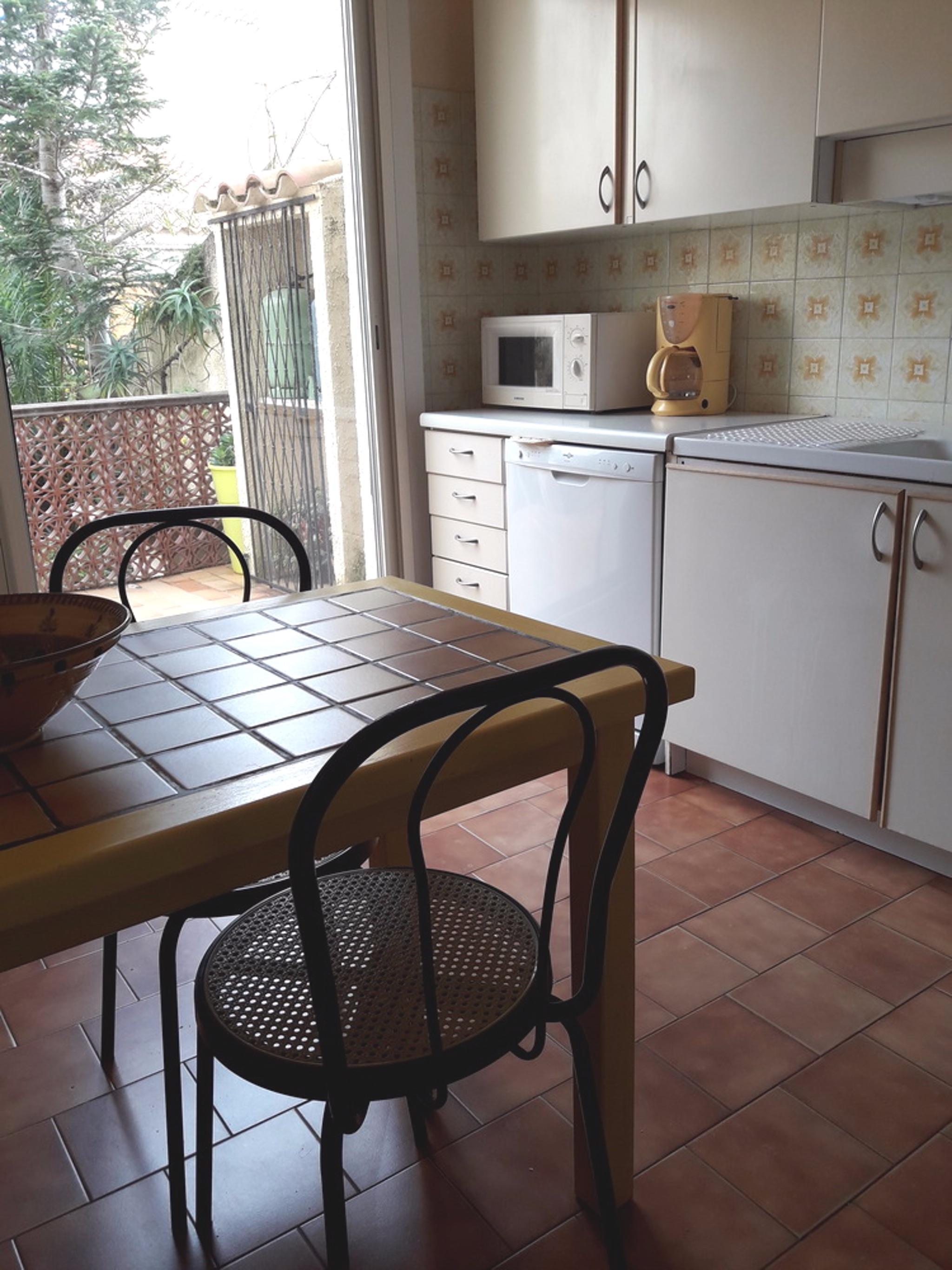 Ferienhaus Haus mit 2 Zimmern in Sainte-Marie mit eingezäuntem Garten - 150 m vom Strand entfernt (2202719), Sainte Marie la Mer, Mittelmeerküste Pyrénées-Orientales, Languedoc-Roussillon, Frankreich, Bild 10