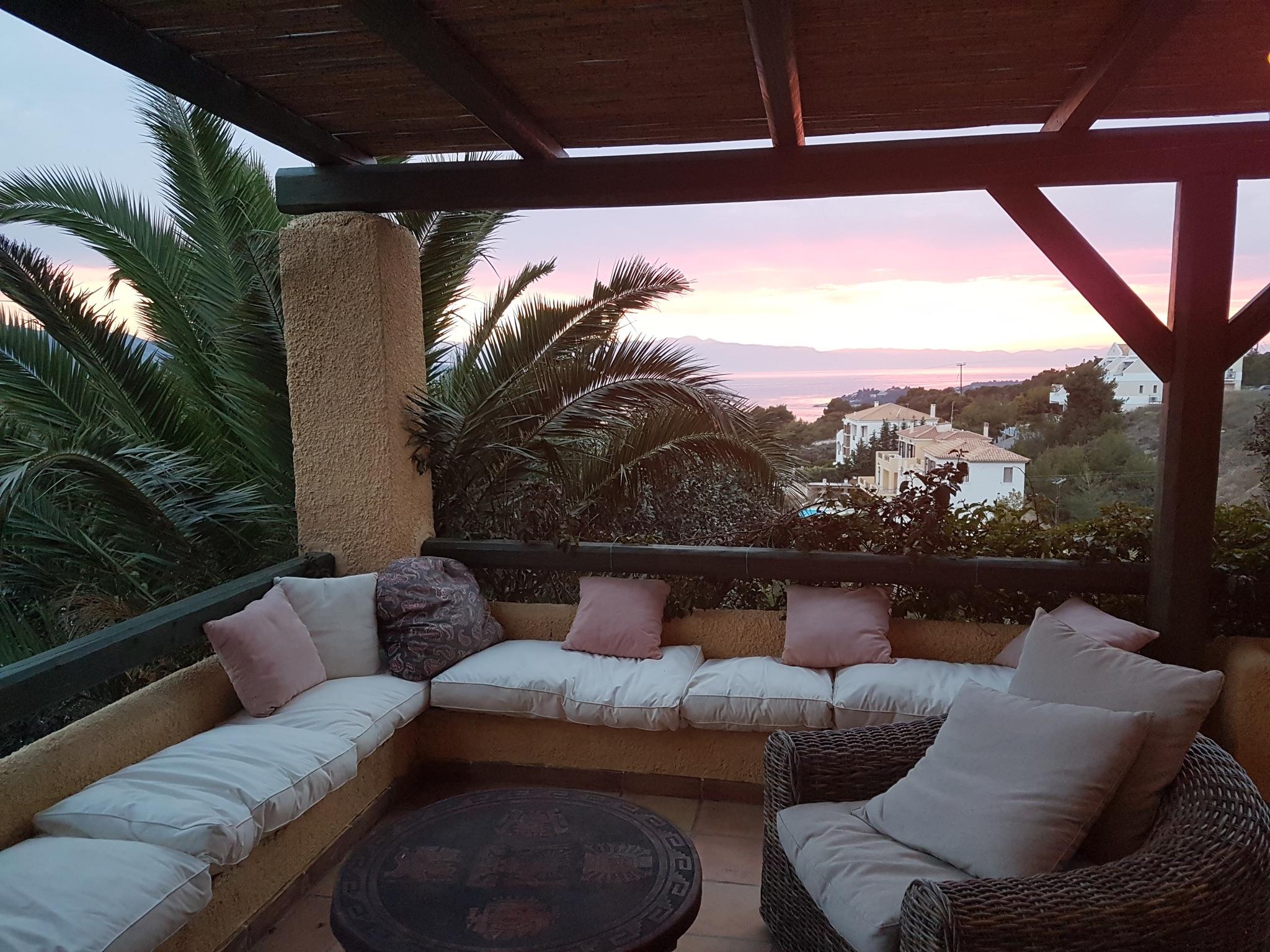 Ferienhaus Villa mit 4 Zimmern in Kosta mit herrlichem Meerblick, privatem Pool, eingezäuntem Garten  (2271451), Kosta (GR), , Peloponnes, Griechenland, Bild 3