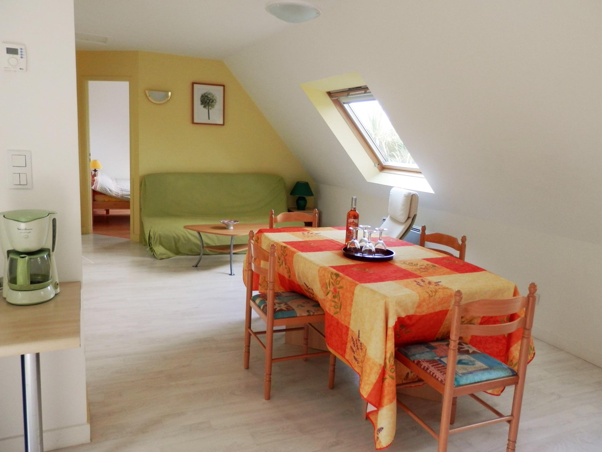 Holiday apartment Modernes wohnung in Arzon mit zwei Schlafzimmern, Terrasse und Blick auf die Stadt - für v (2201249), Arzon, Atlantic coast Morbihan, Brittany, France, picture 4