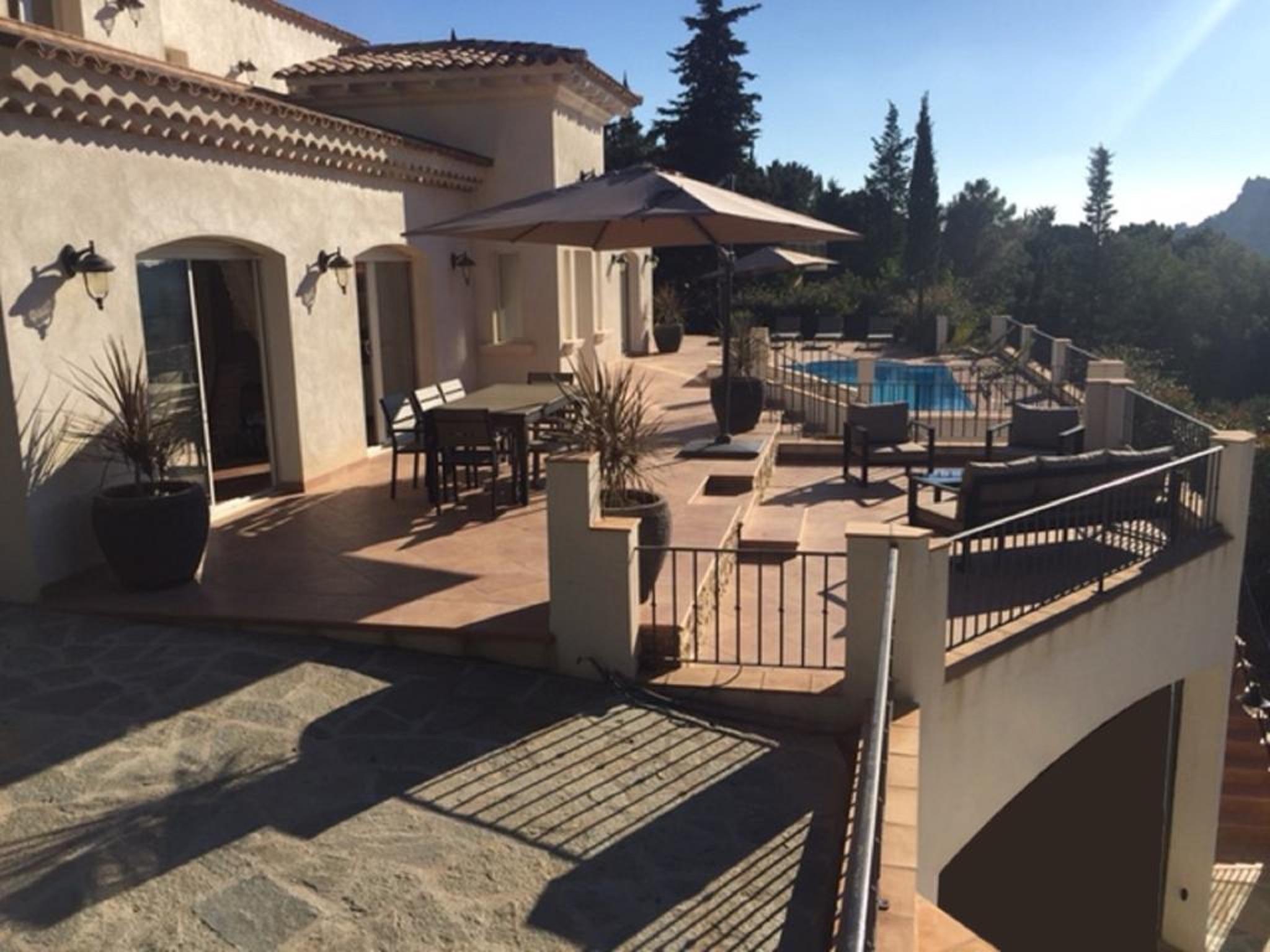 Maison de vacances Villa mit 5 Schlafzimmern in Rayol-Canadel-sur-Mer mit toller Aussicht auf die Berge, priv (2201555), Le Lavandou, Côte d'Azur, Provence - Alpes - Côte d'Azur, France, image 2
