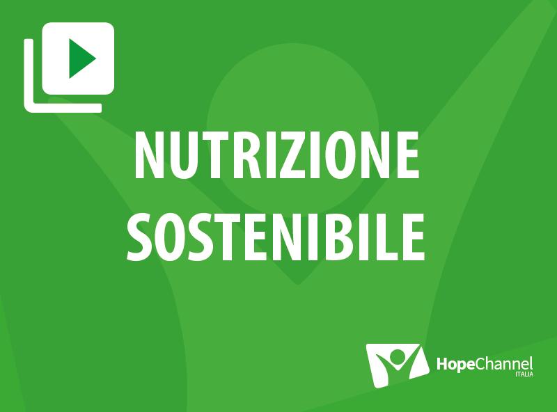 Nutrizione sostenibile
