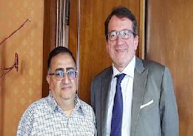 Modena - Incontro con il sindaco della città