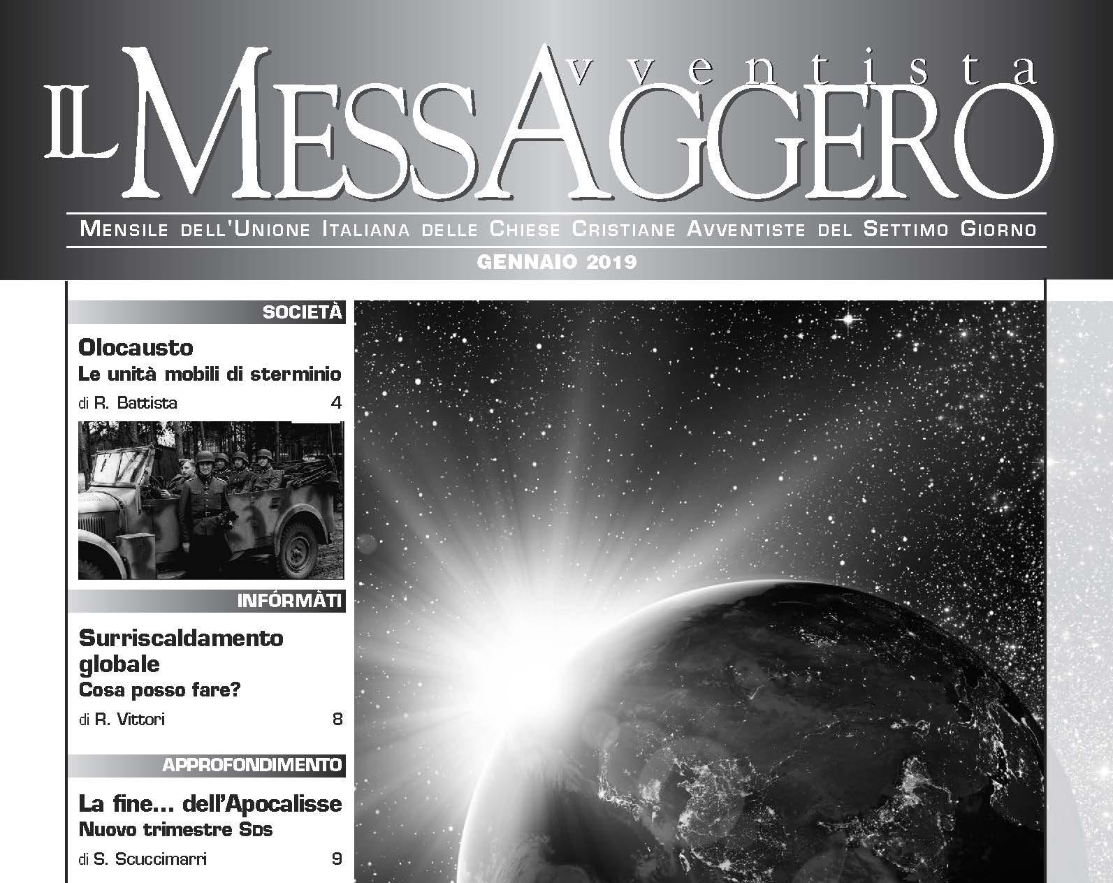 Messaggero - Gen. 2019
