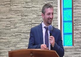"""Pastore Eugen Havresciuc: """"Siate santi come Io sono santo"""""""