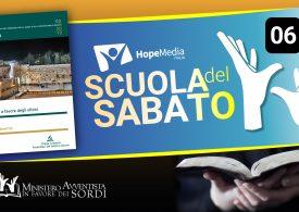 Scuola del Sabato - 3° Trimestre 2019 - Lezione 6- LIS