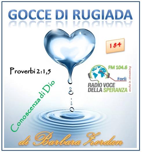 Gocce di Rugiada 184 (Conoscenza di Dio)