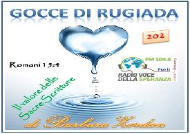 Gocce di Rugiada 202 (Il valore delle Sacre Scritture)