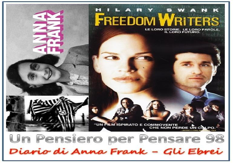 Un Pensiero per Pensare 98 (Anna Frank, gli Ebrei)