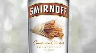 SMIRNOFF® Cinnamon Churros