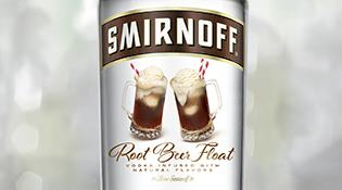 SMIRNOFF® Root Beer Float