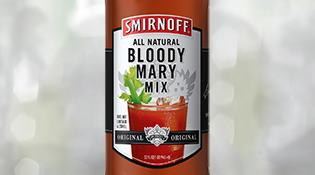 SMIRNOFF® Bloody Mary Cocktail Mixer