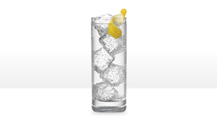 Silver & Soda with SMIRNOFF® 90 Proof Vodka