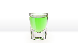 SOUR APPLE SHOT with SMIRNOFF® SOURS GREEN APPLE