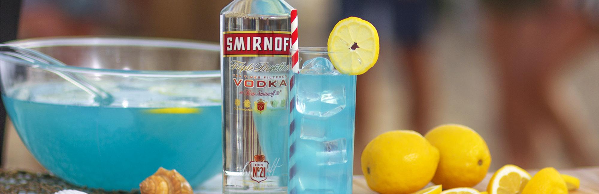 gode drinker med vodka