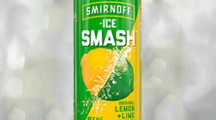 Smirnoff Ice Smash Lemon Lime - Thumb
