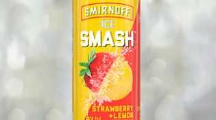 Smirnoff ICE Smash Strawberry Lemon - Thumb