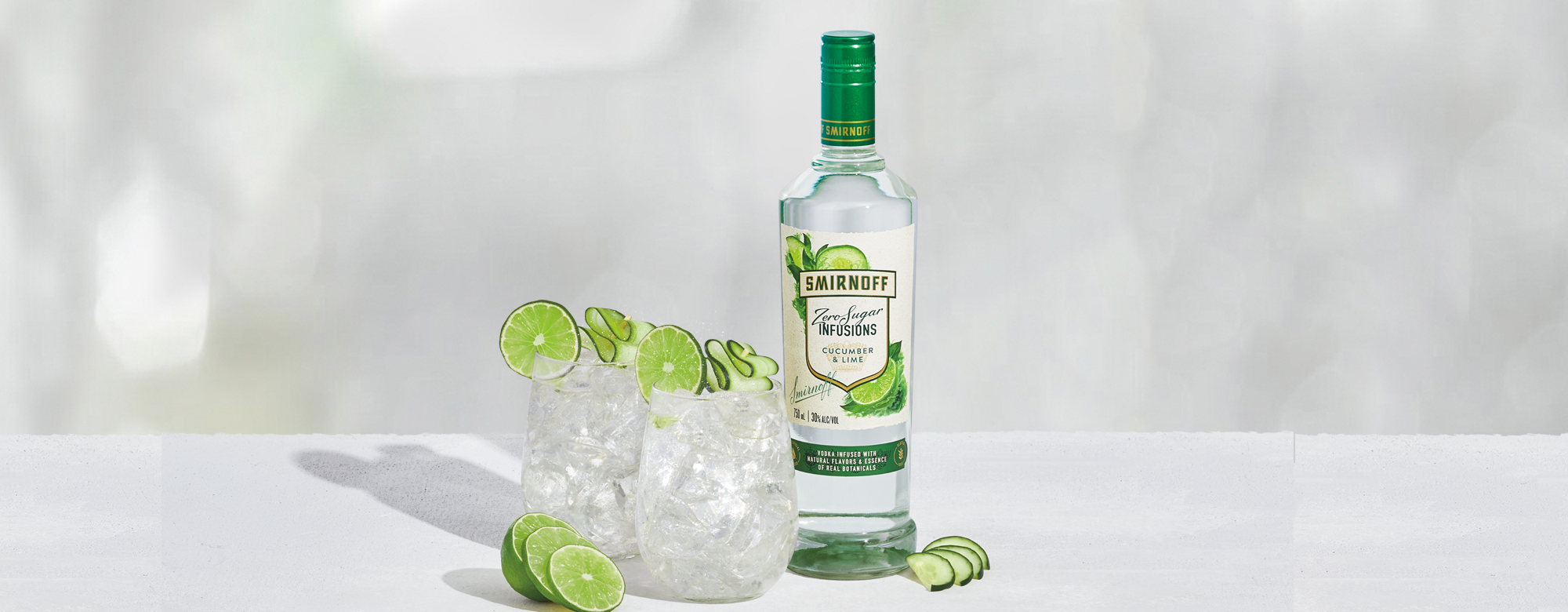 Zero Sugar & Soda – Cucumber & Lime