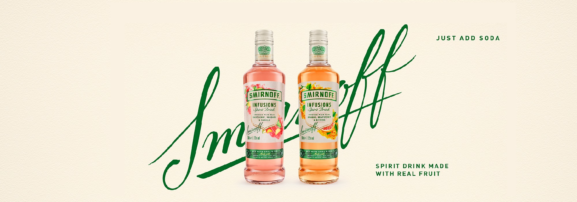 Slide - Try NEW Smirnoff Infusions