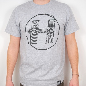 Hospital Records – Bones Grey T-Shirt