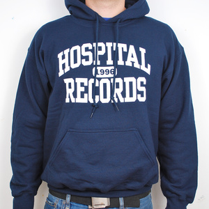 Hospital Records – College Hoody Navy