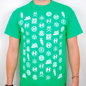 Hospital Records – Re-Repeat Green T-Shirt