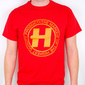 Hospital Records – Marque Red T-Shirt