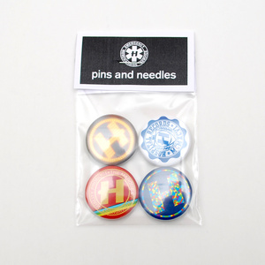 Pins & Needles Badge Set 1