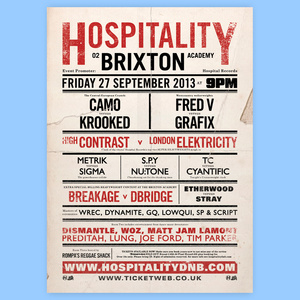 Hospital Records – Brixton 'The Final' Poster