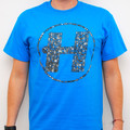 Hospital Records – Robots Blue T-Shirt