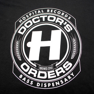 Doctors Orders Black T-Shirt