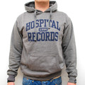 Hospital Records – Premium College Hoody Grey