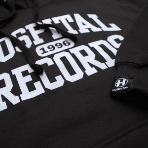 Premium College Hoody Black