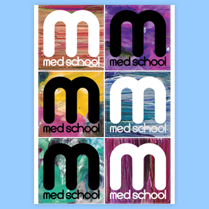 Med School Stickers Series 1
